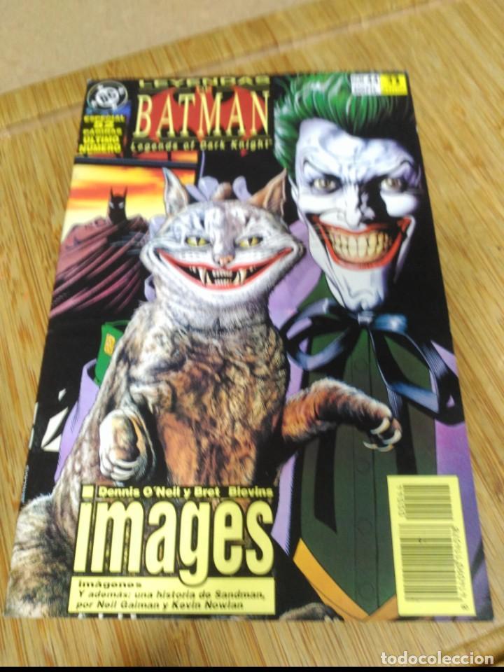 BATMAN LEYENDAS DE BATMAN Nº 44 ÚLTIMO DE LA COLECCIÓN ZINCO (Tebeos y Comics - Zinco - Batman)