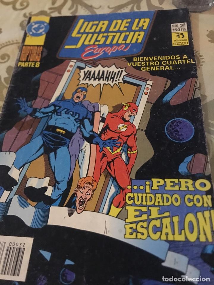 LIGA DE LA JUSTICIA - EUROPA - EDICIONES ZINCO - Nº32 (Tebeos y Comics - Zinco - Liga de la Justicia)