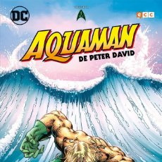 Cómics: AQUAMAN DE PETER DAVID 1 - ECC / DC TAPA DURA / NUEVO DE EDITORIAL. Lote 188517750