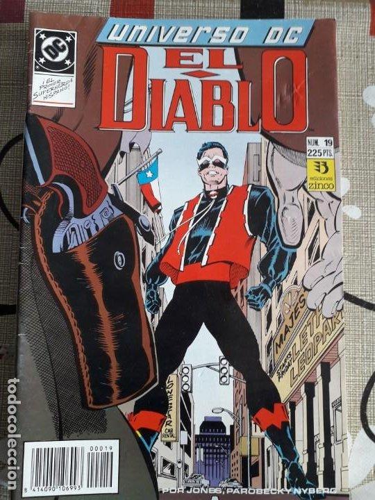 UNIVERSO DC EL DIABLO N-19 (Tebeos y Comics - Zinco - Cosa del Pantano)