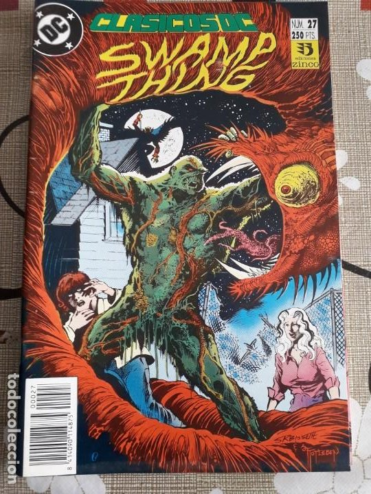 Cómics: CLASICOS DC SWAMP THING N-27 - Foto 1 - 188553501