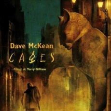 Cómics: CAGES DE DAVE MC KEAN - ECC / DC EDICIÓN 25 ANIVERSARIO / TAPA DURA. Lote 188666987