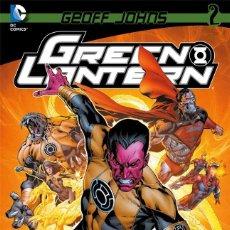 Cómics: GREEN LANTERN DE GEOFF JOHNS 2 - ECC / DC TAPA DURA. Lote 188668501