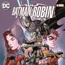 Cómics: BATMAN Y ROBIN ETERNOS - ECC / DC EDICIÓN INTEGRAL / TAPA DURA. Lote 188668816