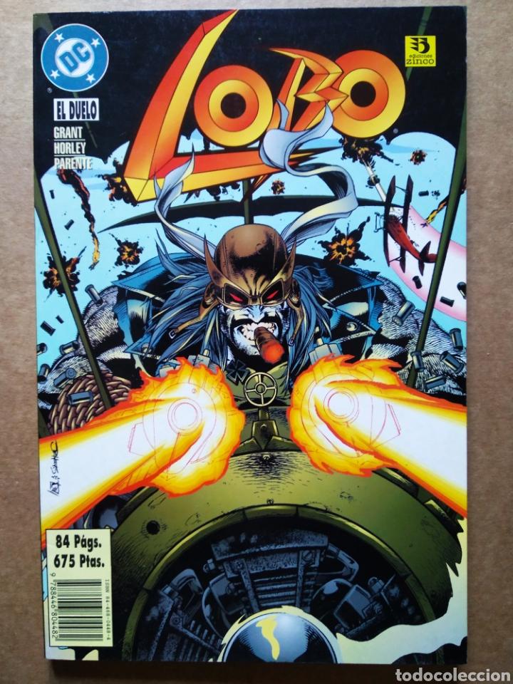 LOBO: EL DUELO (ZINCO, 1996). POR GRANT, ELLIS, HORLEY, PARENTE Y MCDANIEL. 84 PÁGINAS A COLOR. (Tebeos y Comics - Zinco - Lobo)