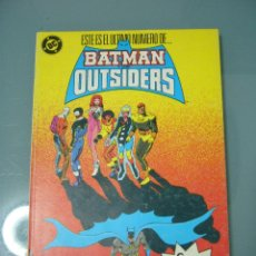 Cómics: BATMAN Y LOS OUTSIDERS 21 A 24. RETAPADO.. Lote 188740601