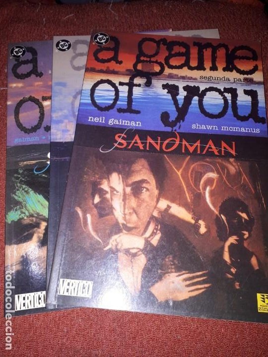 SANDMAN: A GAME OF YOU 2, 3 Y 4 - ZINCO (Tebeos y Comics - Zinco - Prestiges y Tomos)