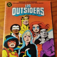 Cómics: LOS OUTSIDERS Nº 26 ULTIMO NUMERO - ALAN DAVIS - DC COMICS ZINCO - 52PGNAS.. Lote 189089228