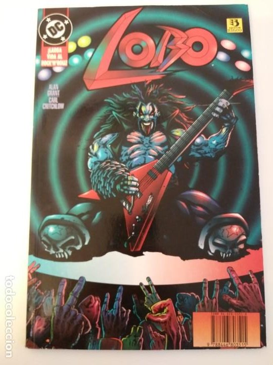 LOBO LARGA VIDA AL ROCK N ROLL. 1995. EDICIONES ZINCO. ALAN GRANT, VAL SEMEIKS. (Tebeos y Comics - Zinco - Lobo)