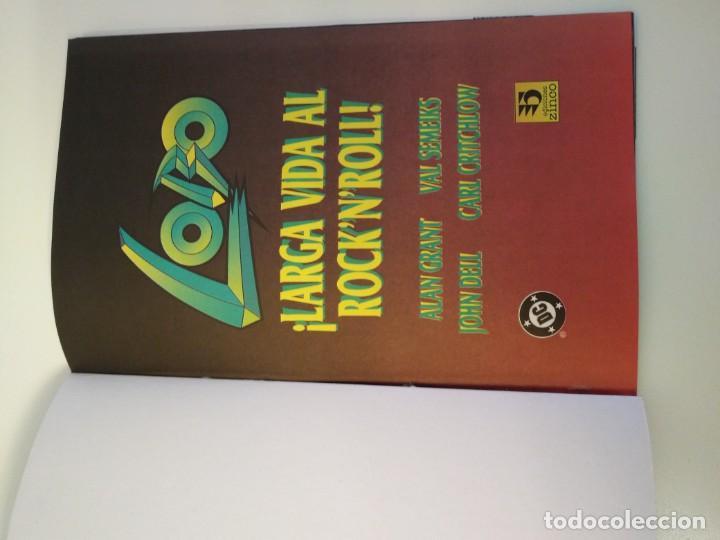 Cómics: LOBO LARGA VIDA AL ROCK N ROLL. 1995. EDICIONES ZINCO. ALAN GRANT, VAL SEMEIKS. - Foto 2 - 189330047