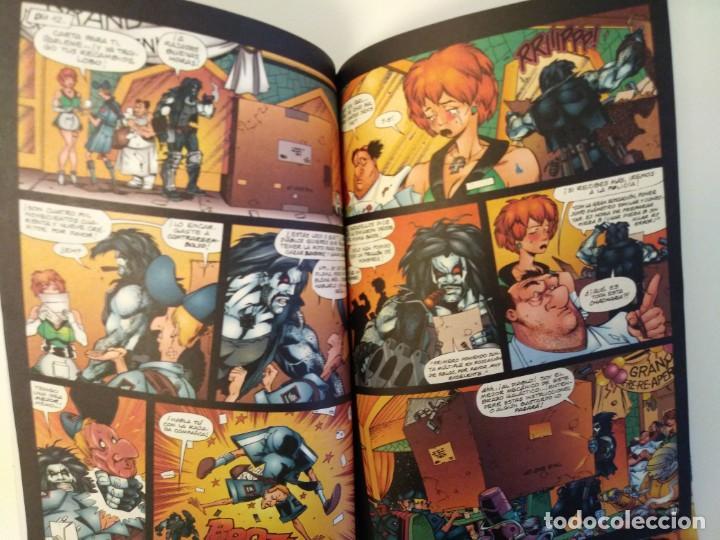 Cómics: LOBO LARGA VIDA AL ROCK N ROLL. 1995. EDICIONES ZINCO. ALAN GRANT, VAL SEMEIKS. - Foto 4 - 189330047