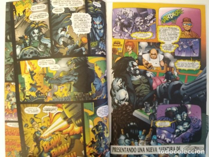 Cómics: LOBO LARGA VIDA AL ROCK N ROLL. 1995. EDICIONES ZINCO. ALAN GRANT, VAL SEMEIKS. - Foto 5 - 189330047