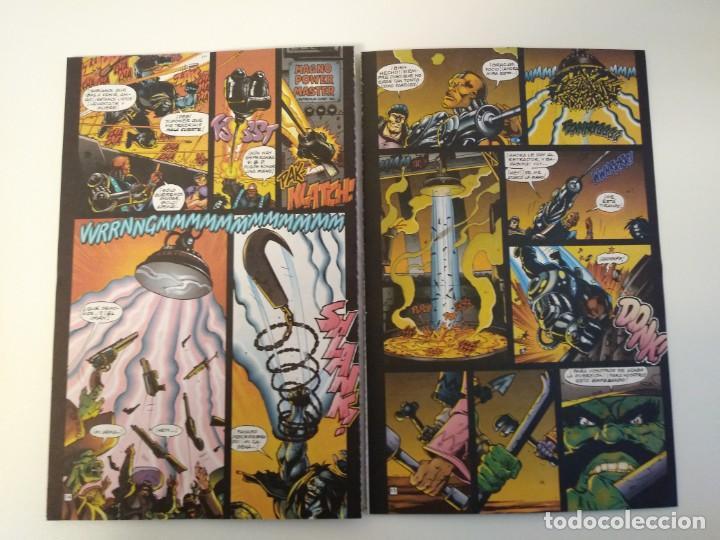 Cómics: LOBO LARGA VIDA AL ROCK N ROLL. 1995. EDICIONES ZINCO. ALAN GRANT, VAL SEMEIKS. - Foto 6 - 189330047