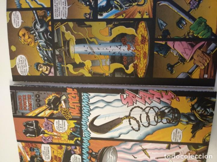 Cómics: LOBO LARGA VIDA AL ROCK N ROLL. 1995. EDICIONES ZINCO. ALAN GRANT, VAL SEMEIKS. - Foto 7 - 189330047