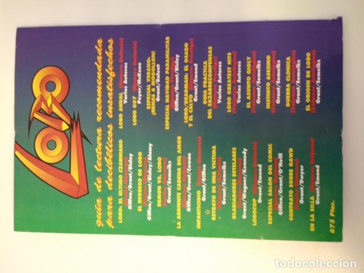 Cómics: LOBO LARGA VIDA AL ROCK N ROLL. 1995. EDICIONES ZINCO. ALAN GRANT, VAL SEMEIKS. - Foto 8 - 189330047