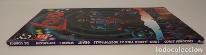 Cómics: LOBO LARGA VIDA AL ROCK N ROLL. 1995. EDICIONES ZINCO. ALAN GRANT, VAL SEMEIKS. - Foto 10 - 189330047