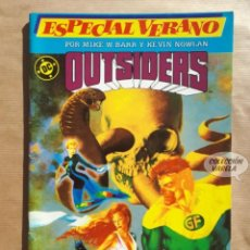 Comics: OUTSIDERS Nº 1 - ESPECIAL VERANO - 52 PÁGINAS - ZINCO - JMV. Lote 189357778
