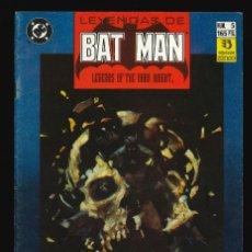 Cómics: LEYENDAS DE BATMAN - EDICIONES ZINCO / NÚMERO 5. Lote 189383503