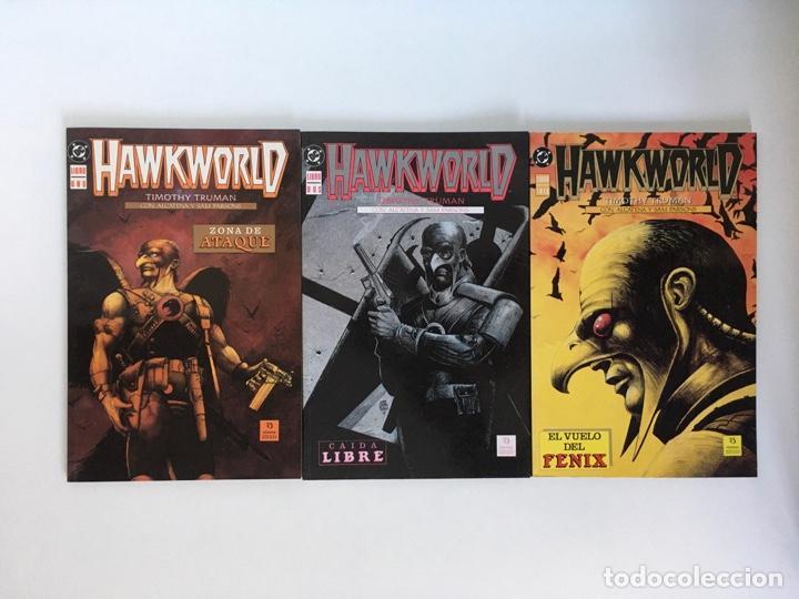 HAWKWORLD DE TIMOTHY TRUMAN. ZINCO. (Tebeos y Comics - Zinco - Prestiges y Tomos)