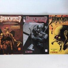 Cómics: HAWKWORLD DE TIMOTHY TRUMAN. ZINCO.. Lote 189546531