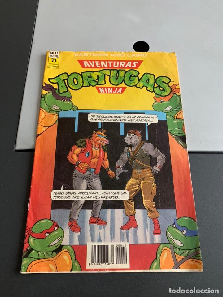 AVENTURAS TORTUGAS NINJA. N 42 (Tebeos y Comics - Zinco - Otros)