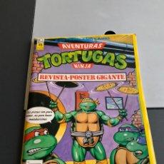 Cómics: REVISTA PÓSTER GIGANTE. TORTUGAS NINJA N 3. Lote 189677117