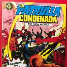 Cómics: LA PATRULLA CONDENADA - ZINCO - N° 1 RETAPADO - CONTIENE LOS N° 1 AL 4. Lote 189772851