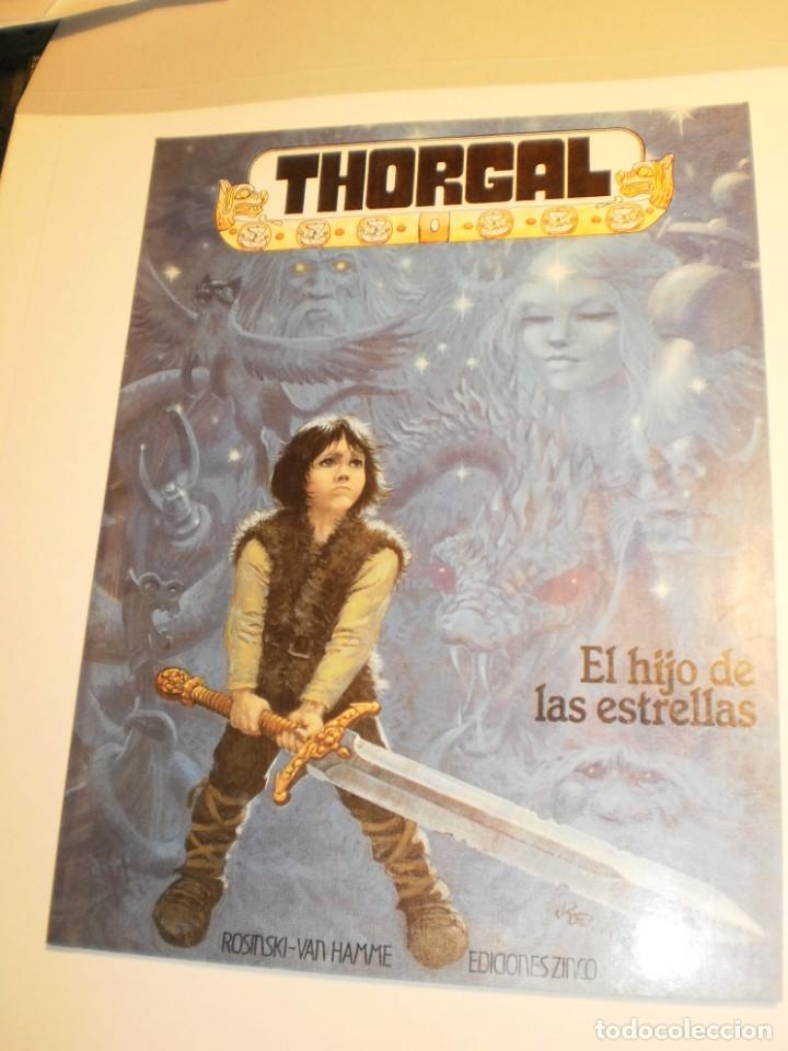 THORGAL. EL HIJO DE LAS ESTRELLAS. COLOR RÚSTICA 1986 ROSINSKI - VAN HAMME (BUEN ESTADO) (Tebeos y Comics - Zinco - Otros)