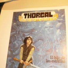 Cómics: THORGAL. EL HIJO DE LAS ESTRELLAS. COLOR RÚSTICA 1986 ROSINSKI - VAN HAMME (BUEN ESTADO). Lote 189886411