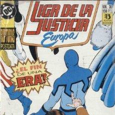 Cómics: LIGA DE LA JUSTICIA EUROPA , 1 AL 35 EJEMPLARES, COMPLETA. Lote 189963608
