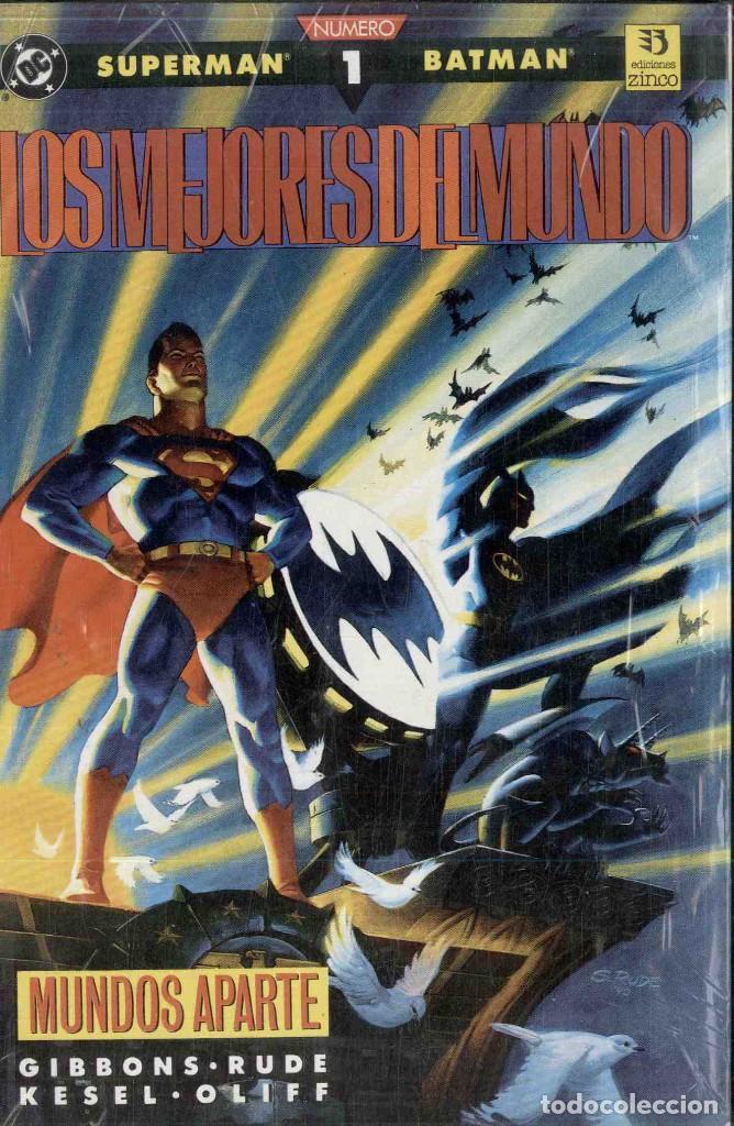 LOS MEJORES DEL MUNDO 3 NºS , COMPLETA (Tebeos y Comics - Zinco - Prestiges y Tomos)