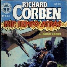 Cómics: RICHARD CORBEN RIP, TIEMPO ATRASO 1 AL 4 NºS . Lote 189993747