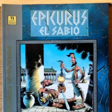 Cómics: EPICURUS EL SABIO - MESSNER & KEITH - ED. ZINCO /PIRHANA PRESS - TOMO I Y II. Lote 190023971