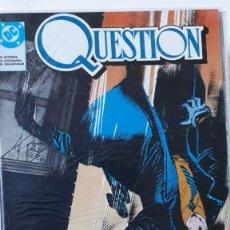 Cómics: THE QUESTION, COMPLETA - 36 NºS SIN RETAPADOS, DENNY O'NEIL/DENNIS COWAN. Lote 190045727