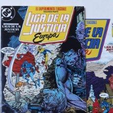 Cómics: LIGA DE LA JUSTICIA EUROPA 7 Y 8, GIFFEN/DEMATTEIS/SEARS. Lote 190045925