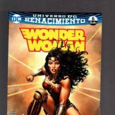 Cómics: WONDER WOMAN 6 RENACIMIENTO - ECC / DC TOMO. Lote 190374325