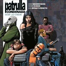 Cómics: LA PATRULLA CONDENADA 1 DESDE LAS CENIZAS - ECC / DC VERTIGO / BIBLIOTECA GRANT MORRISON / TAPA DURA. Lote 190378986