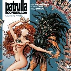 Cómics: LA PATRULLA CONDENADA 2 CAMINO AL PARAISO - ECC / DC VERTIGO / BIBLIOTECA GRANT MORRISON / TAPA DURA. Lote 190379695