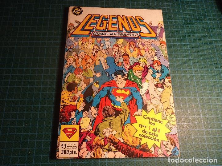 TOMO LEGENDS. CONTIENE LOS NUMEROS 1 AL 4. (REF.01). (Tebeos y Comics - Zinco - Retapados)