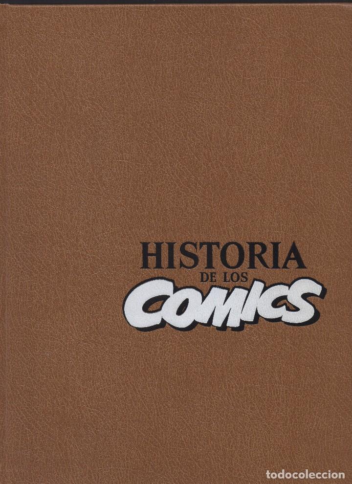 HISTORIA DE LOS COMICS TOUTAIN EDITOR 1982 (Tebeos y Comics - Zinco - Prestiges y Tomos)
