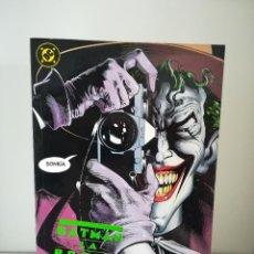Cómics: BATMAN LA BROMA ASESINA - 1ª EDICION 1988 DC COMICS - EDICIONES ZINCO EL JOKER. Lote 190521675