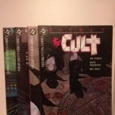 Cómics: BATMAN THE CULT LOTE COLECCION COMPLETA 4 EJEMPLARES. Lote 190521973
