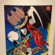 Cómics: DC ZINCO BATMAN CIRCULO MORTAL. Lote 190522321