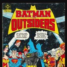 Cómics: BATMAN Y LOS OUTSIDERS - EDICIONES ZINCO / NÚMERO 1. Lote 190716672