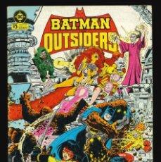 Cómics: BATMAN Y LOS OUTSIDERS - EDICIONES ZINCO / NÚMERO 4. Lote 190716971