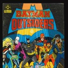 Cómics: BATMAN Y LOS OUTSIDERS - EDICIONES ZINCO / NÚMERO 6. Lote 190721698