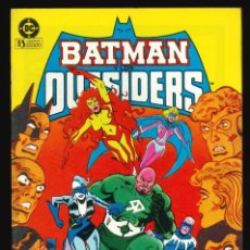 Cómics: BATMAN Y LOS OUTSIDERS - EDICIONES ZINCO / NÚMERO 7. Lote 190721807