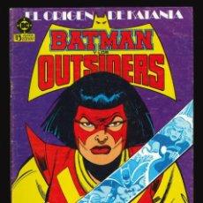 Cómics: BATMAN Y LOS OUTSIDERS - EDICIONES ZINCO / NÚMERO 8. Lote 190721923
