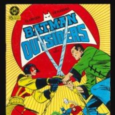 Cómics: BATMAN Y LOS OUTSIDERS - EDICIONES ZINCO / NÚMERO 9. Lote 190721986