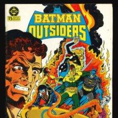 Cómics: BATMAN Y LOS OUTSIDERS - EDICIONES ZINCO / NÚMERO 10. Lote 190722041